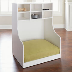 Logan Pet Storage Cabinet/Bed, WHITE