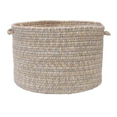 Tremont Basket by Colonial Mills, GRAY