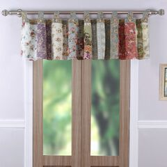 Blooming Prairie Window Valance by Greenland Home Fashions, MULTI