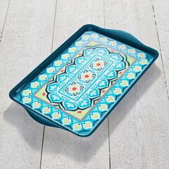 Blue Casab Serving Tray, MULTI