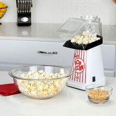 Kalorik Hot Air Popcorn Maker, WHITE