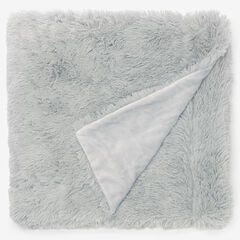 Lola Shaggy Throw, GRAY