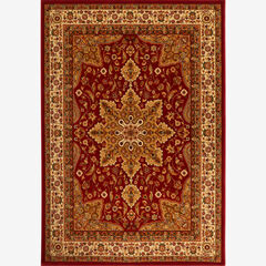"""Royalty Rug 7'8"""" x 10'4"""", RED"""