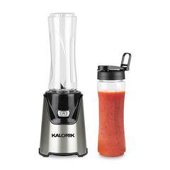 Kalorik® Personal Sport Blender with 2 Tritan Bottles, STAINLESS STEEL