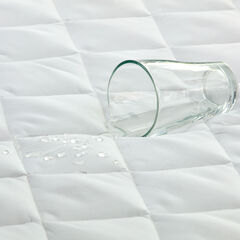 Bed Tite™ Aquaguard Waterproof Mattress Pad, WHITE