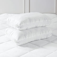 2 Pack Support Pillows, WHITE