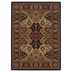 Trio Traditional Burgundy 2'X3' Area Rug,