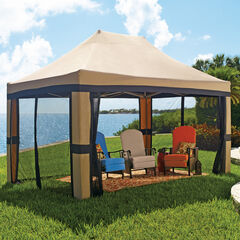 Oversized 10'x20' Instant Pop Up Gazebo with Screen,