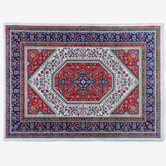 Emerald 5' x 7' Rug, RED