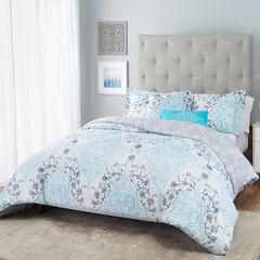 Nicole Miller Emma Reversible Comforter Set, MULTI