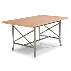 French Quarter Dining Table, WHITE WASHED