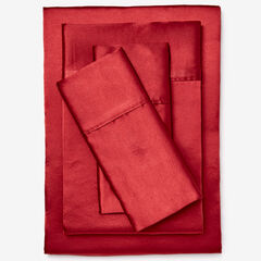 Satin Bed Tite™ 300-TC Sheet Set, BURGUNDY