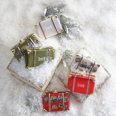 "4"" Luggage Ornaments, Set of 3,"