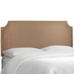 Hampden Notched Nail Button Headboard, PREMIER SADDLE