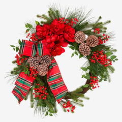 "33"" Bellmead Wreath,"