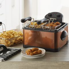 Triple Basket Deep Fryer,