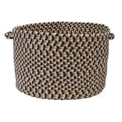 Burmingham Basket by Colonial Mills, BLUE