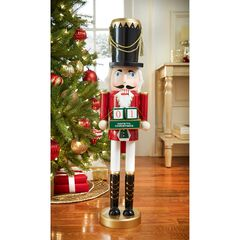 "26""H Nutcracker with Advent Calendar,"