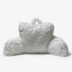 Lola Shaggy Backrest Pillow,