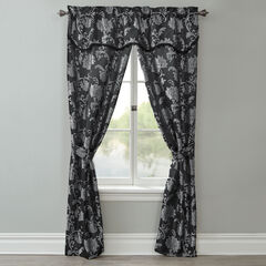 Carrington 5-Pc. Window Set, BLACK