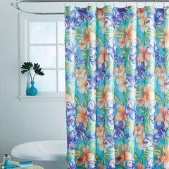 Caribbean Joe 14-Pc. Shower Curtain Sets, HIBISCUS
