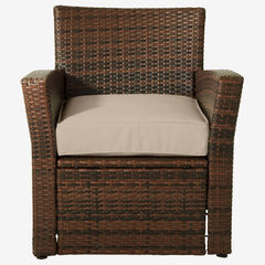 Santiago Chair, BROWN TAUPE