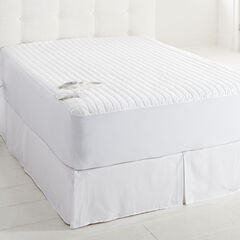Performance Therapy Warming Mattress Pad, WHITE