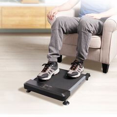 Hometrack Sitting Treadmill, BLACK