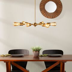Yarrow 6-Light Spoke Pendant Lamp,