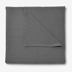 BH Studio Primrose Cotton XL Blanket, SLATE