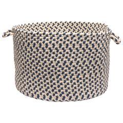 Stone Harbor Blue Diamond Basket, BLUE
