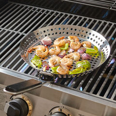 BBQ Grill Pan, STAINLESS
