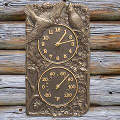Cardinal Combo Clock And Thermometer,