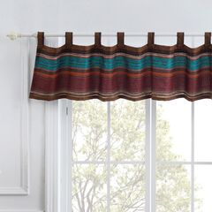 Tucson Coffee Window Valance by Barefoot Bungalow, COFFEE