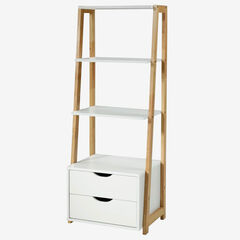 Heidi Collection Bookcase, NATURAL WOOD