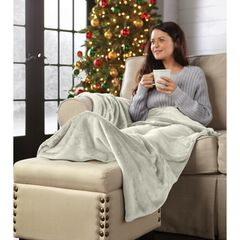 Foot Pocket Blanket, IVORY