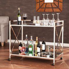 Maxton Bar Cart, GOLD