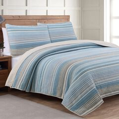 Estate Collection Taj Ice Blue Quilt Set, ICE BLUE