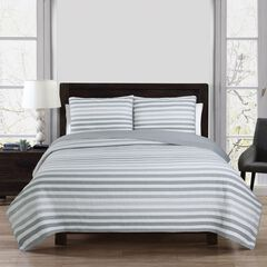 Sagaponack Quilt Set, GRAY