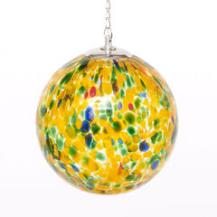 Solar Glass Color Ball, YELLOW