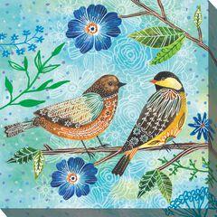 Floral Flight Outdoor Wall Art, MULTI