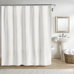 Sunset European Matelassé Shower Curtain,