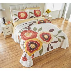 Bloom Chenille Bedspread, MARIGOLD