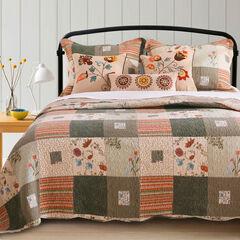 Sedona Bonus Quilt Set by Greenland Home Fashions, NATURAL