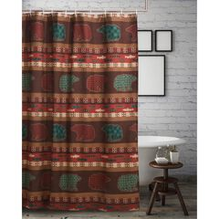 Canyon Creek Shower Curtain by Greenland Home Fashions, MULTI