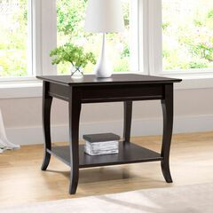 Dayton End Table, EXPRESSO