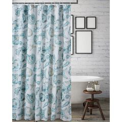 Cruz Shower Curtain by Barefoot Bungalow, WHITE