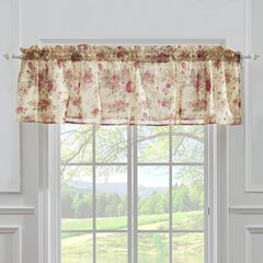 Antique Chic Window Valance by Greenland Home Fashions, ROSE