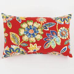 """20"""" x 13"""" Lumbar Pillow, DAELYN CHERRY"""