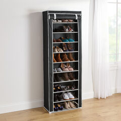 Eve Single Shoe Rack, BLACK